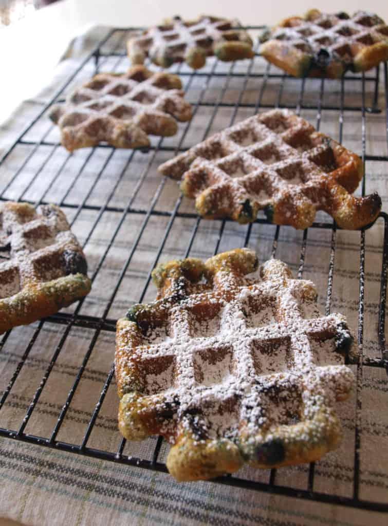 Blueberry Muffles | Mae's Menu