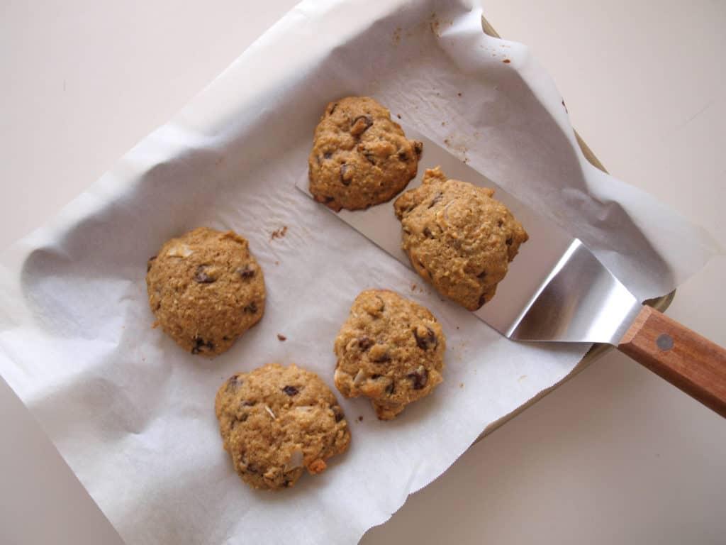 Serving Coconut Quinoa Chocolate Chip Cookies   Mae's Menu