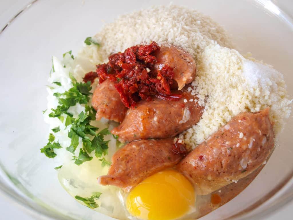 Juicy Chicken Sausage Ingredients | Mae's Menu