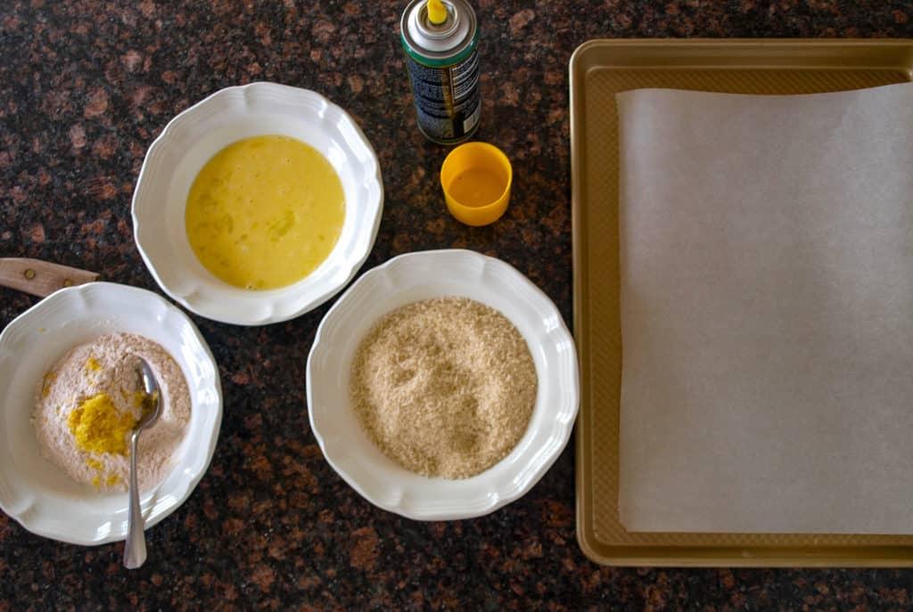 Oven Fried Lemon Panko Breaded Chicken Tenders | Mae's Menu