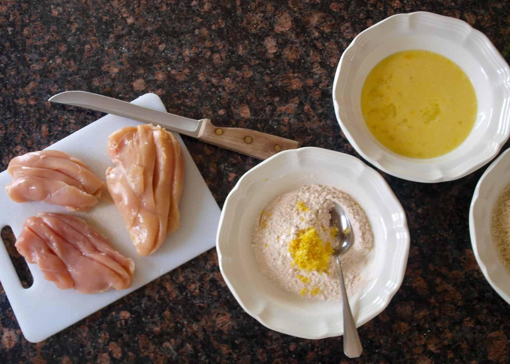 Chicken Dredging | Mae's Menu