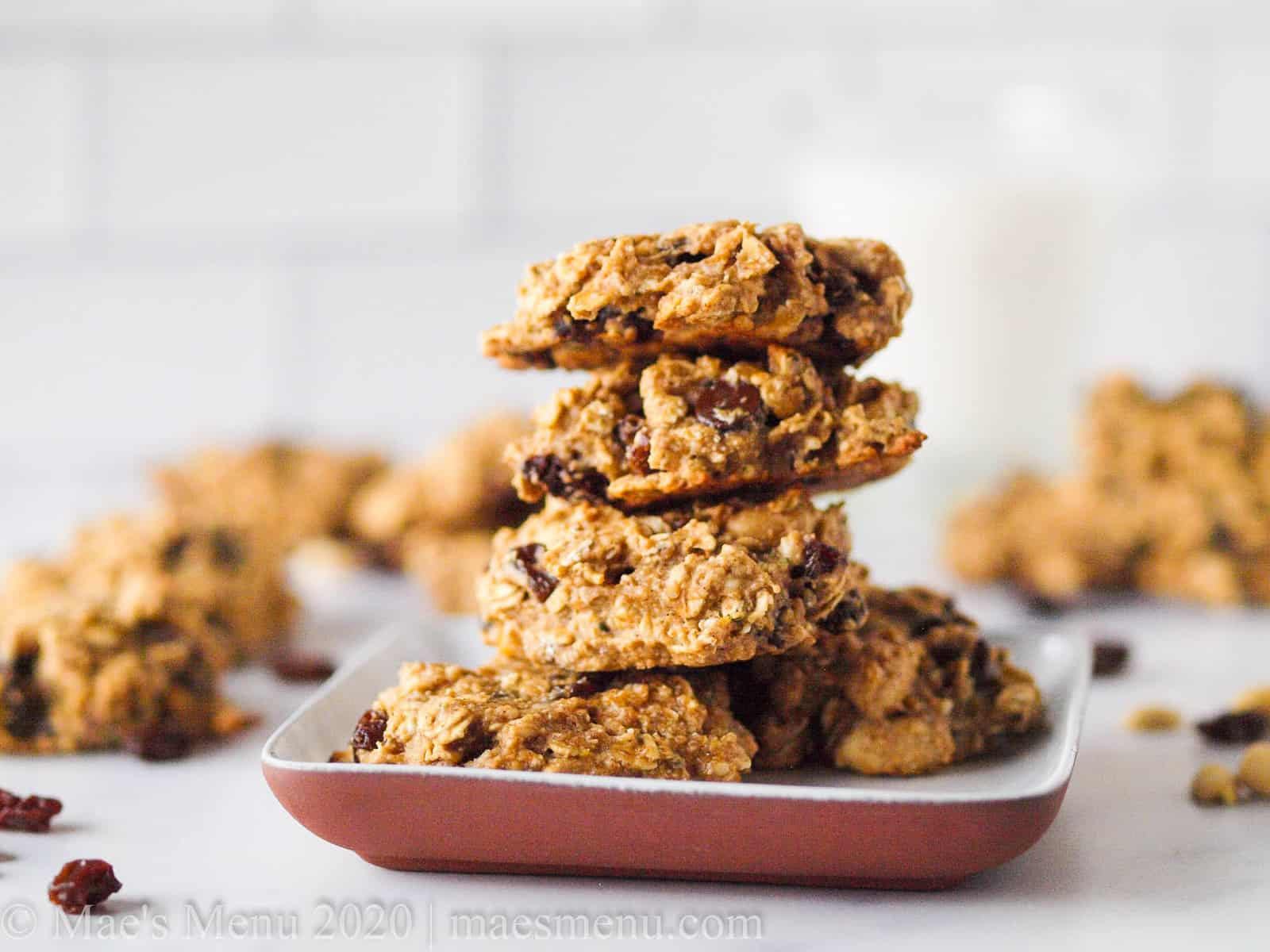 Oat Protein Cookies Gluten Free No Butter No Processed Sugar Mae S Menu Quick And Healthy Recipes