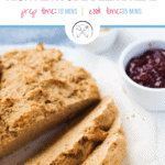 Pinterest pin for high altitude beer bread