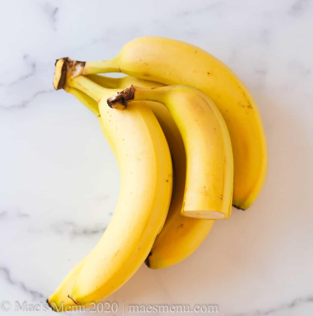 4 1/2 large yellow bananas