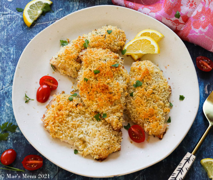 Crispy Herbed Panko Chicken