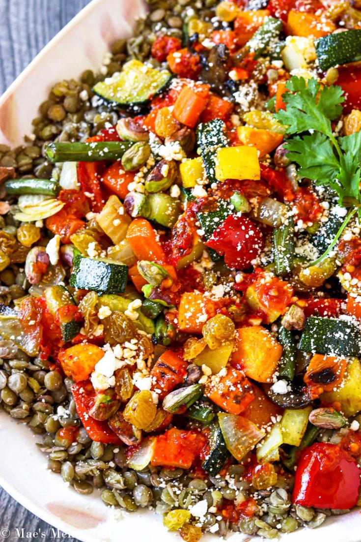 Moroccan Roasted Vegetable Salad